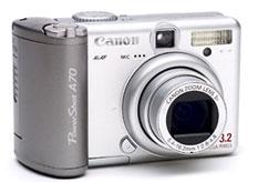 Фотоаппарат Сanon A70